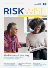 Riskwise South Africa Front cover Dec 2018