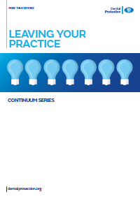 Dental GEN Leaving your practice cover 2016