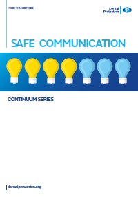Dental GEN Safe communication cover 2016